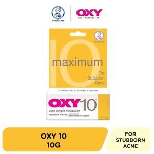 10g- OXY10 Mentholatum Acne Pimple Medication Cream