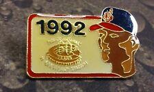 1992 Cleveland Indians 60 years at Cleveland Stadium pin badge