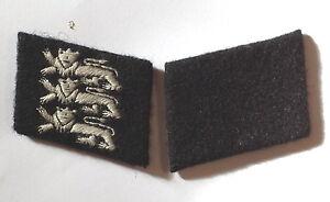 WW2 GERMAN British Free Corps Collar tabs