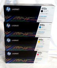 HP Genuine 410A Multi Color LaserJet Toner Set CF410A CF411A CF412A CF413A OEM