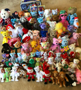 Ty Beanie Baby Lot - Great Value! Over 50+ Beanie Babies + Unopened Membership!