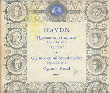 "QUATUOR PASCAL HAYDN VIOLON VIOLIN STRING RARE GID LP10"" 25CM PORT A PRIX COUTAN"