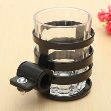 1x Universal Motorcycle Bike Handlebar Drink Cup Holder Water Bottle for Bicycle