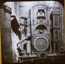 Strasbourg Astronomical Clock, Alsace, France, Magic Lantern Glass Photo Slide