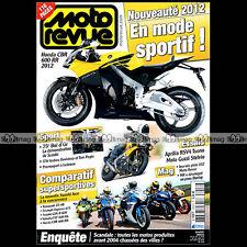 MOTO REVUE N°3906 SUZUKI GSXR 600 KAWASAKI ZX-6R TRIUMPH 675 DAYTONA YAMAHA R6