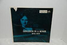 Myra Hess-Schumann Concerto In A Minor, HMV, LHMV1062, EX