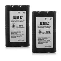 2x HNN9018 HNN9018A HNN9018AR Battery For Motorola CP50 SP-50 SP50 Radius