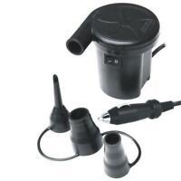 Electric Air Pump Inflator Deflator - 12V DC Car Lighter Plug Inflate Deflate