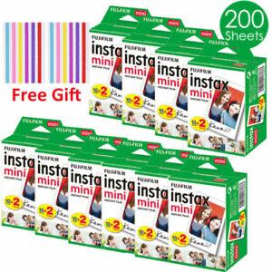 Fujifilm Instax Mini Film Fuji instant photos 9 8 11 90 25 50 7s Polaroid 300