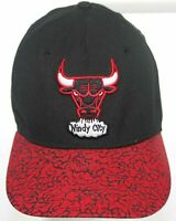 Chicago Bulls New Era 9Fifty HWC Hardwood Classics Strapback Cap Black & Red Hat