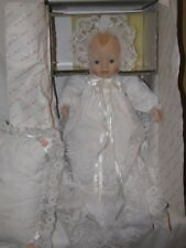 """13"""" Porcelain Baby Doll Emily By Elke Hutchens For Danbury Mint- With Box"""