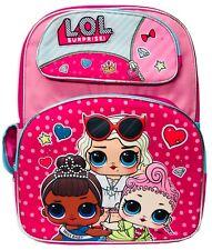 "LOL Surprise! Exclusive 3D 16"" School Bag, Backpack, Officially Licensed lol bag"
