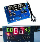 Digital thermostat Temperature Controller Switch Heating/Cooling -9~99°C DC 12v