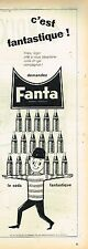 B- Publicité Advertising 1959 Limonade Soda Fanta