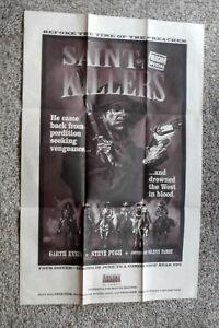 Preacher Saint of Killers Promo Poster, GLENN FABRY, DC Vertigo 1996, Unused  r