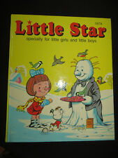 Little Star 1974 specially for little girls and little boys HB Vintage EUC