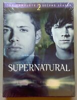 NEW Supernatural - The Complete Second Season 2 DVD 6-Disc Set