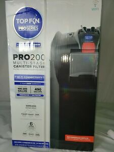 Top Fin PRO200 Multi-Stage Canister Filter 100-200G tanks Brand new