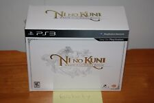 Ni No Kuni: Wrath of the White Witch Wizard's Edition (PS3) NEU SEALED MINT RARE