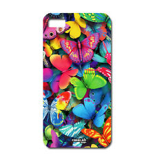 CUSTODIA COVER CASE FARFALLE COLORATE color PER iPHONE 5C