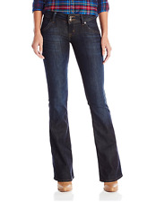 Hudson Signature Dark Wash Bootcut Jeans in Firefly size 24 NEW $198 LAST ONE