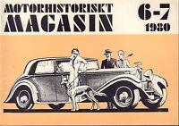 Motorhistoriskt Magasin Swedish Car Magazine 6-7 1980 Alvis 032717nonDBE