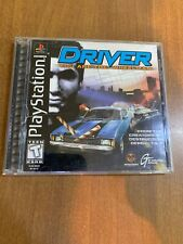 Driver (Sony PlayStation 1 PS1, 1999) Complete CIB Black Label