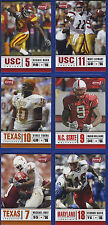 2006 SAGE ASPIRE: COMPLETE SET OF 36 ROOKIE CARDS (ALL ARE DISPLAYED IN SCANS)