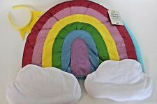 NWT Pottery Barn Kids Rainbow Emoji Halloween costume 3T