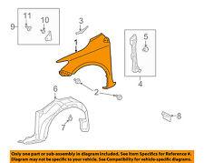 TOYOTA OEM 09-13 Corolla-Front Fender Quarter Panel Right 5380102110