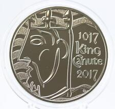2017 Royal Mint King Canute £5 coin BU brilliant uncirculated