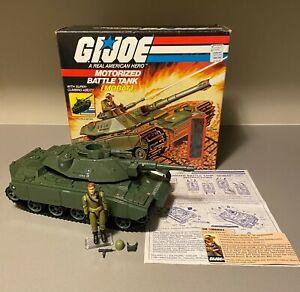 GI Joe 1982 MOBAT w/Steeler 100% Complete with FC, Blueprints and Box ARAH