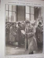 Coda di volontariato importanza nazionale un ufficio postale di Londra 1917