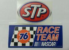 76 FUEL + STP  RACING STICKERS  NASCAR TOOLBOX GARAGE