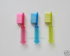 12 Toothbrush Eraser Pencil Toppers Birthday Party Bag Favor Dental Kid Reward