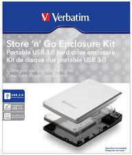 BOX ESTERNO VERBATIM USB 3.0 2.5'' 53100 - SPED. TRACCIATA