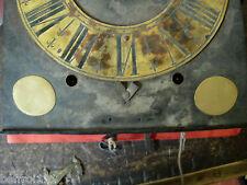 Lot 2 écoinçons,pendule coq,horloge comtoise relieur,reliure,coins type XVIIIe