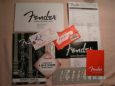 Fender Telecaster Case Candy Pack-With Blank Hang jour & Reg Doc-TELE-New