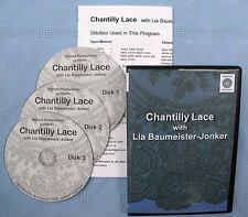 Chantilly Lace Bobbin Lace Making Instructional Dvd Set Lia Baumeister-Jonker
