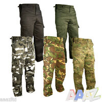 Mens Military Army Combat Trousers Tactical Airsoft Work Camo Pants Cargo