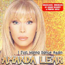 ☆ CD SINGLE Amanda LEAR I just wanna dance again 3-Tr ☆ ex