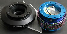 NRG STEERING WHEEL QUICK RELEASE HUB 2.1 BLUE-NEO FOR BMW E46 FITS:BMW