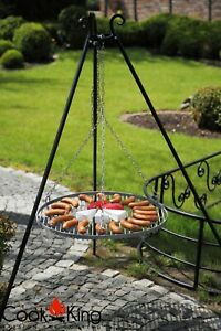 Cook King Steel Grate Tripod Grill