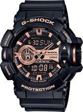 BRAND NEW CASIO G SHOCK GA400GB-1A4 ROTARY BLACK ROSE ANA DIGI MEN'S WATCH NWT!!