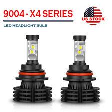 2X 9004 HB1 LED Headlight Bulbs Kit Hi-Lo Beam High Power 6000K 1850W 270000LM