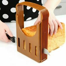 Bread Slicer Cutter Mold Maker Slicing Cutting Guide Toast Tool Kitchen H1P8