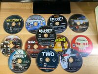 Lot of 12  PS3 Disc Tested Work Good Condition Call Of Duty Black Ops 1 2 &3 Etc