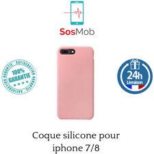 Apple Coque en Silicone pour iPhone 7 Rose des Sables