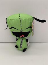 "Nickelodeon Nick '90s Invader Zim GIR Green DOG 10"" Plush STUFFED ANIMAL 90s NWT"