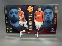 2020-21 Topps UEFA Soccer Best of the Best Teamates Greenwood Bruno Manchester